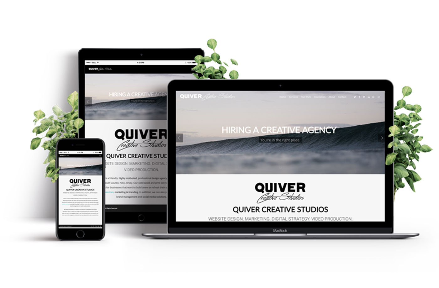 Web Design, Marketing & Video Production - Quiver Creative